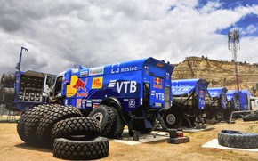 Picture Speed, Truck, Master, Russia, Kamaz, Rally, Dakar, KAMAZ-master, Dakar, Rally, KAMAZ, Tires, Best, RedBull, Master, …