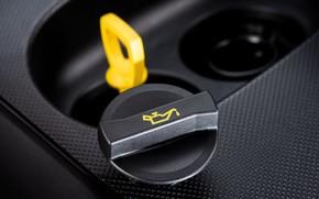 Picture yellow, cap, oil, motor