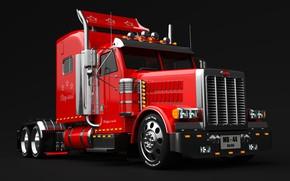 Picture machine, transport, technique, car, Big Bill Truck