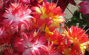 Picture fabulous, artificial flowers, spring 2018, Meduzanol ©