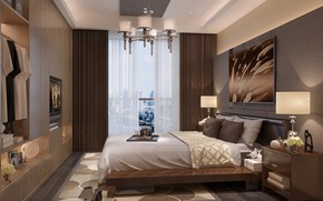 Picture room, sneakers, picture, bedroom typical, MODERN APARTMENT