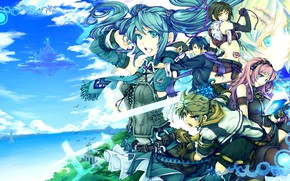 Picture fantasy, Vocaloid, Vocaloid, characters