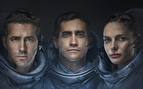 Wallpaper Girl, Ryan Reynolds, Stars, Space, Galaxy, Jake Gyllenhaal, Men, year, Woman, Horror, Travel, Movie, Film, ...