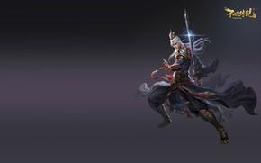 Picture the game, warrior, costume design, Asura Online