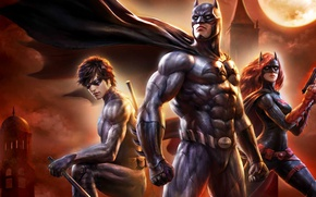 Wallpaper logo, yuusha, Batgirl, Batman: Bad Blood, Gotham, Gotham City, bat, hero, Batman, nightcrawler, DC Comics