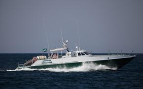 Picture boat, the black sea, Sevastopol