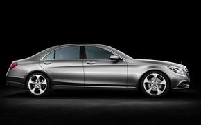 Picture sedan, Mercedes Benz, S Class