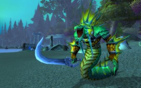 Picture WoW, game, naked, naked, World of WarCraft, The dark shore