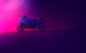 Picture Ducati, Colored, 750, Motocycle, Paso