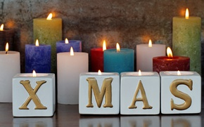 Picture holiday celebration, Christmas, xmas, candles, merry christmas, New Year, decoration