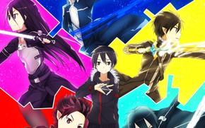 Picture light, weapon, anime, pretty, asian, warrior, manga, japanese, Sword Art Online, Kirito, oriental, asiatic, sugoi, …