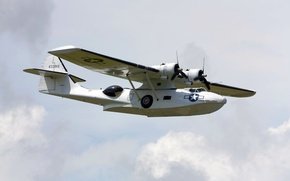 Picture patrol, Catalina, PBY-5A, anti-submarine aircraft