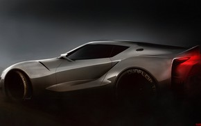 Picture Auto, Figure, Machine, Grey, Toyota, Art, Rendering, FT-1, Toyota FT-1, Yasid Design, Yasid Oozeear, YASIDDESIGN