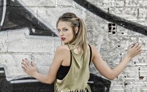 Picture look, girl, model, hair, Claudia Suarez