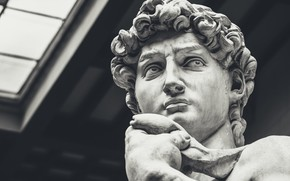 Picture Statue, Italy, Florence, Renaissance, Michelangelo, David, Renaissance, Renaissance, Michelangelo, marble statue