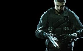 Picture red, gun, pistol, game, weapon, Resident Evil, man, asian, rifle, DLC, Biohazard, Chris Redfield, oriental, …