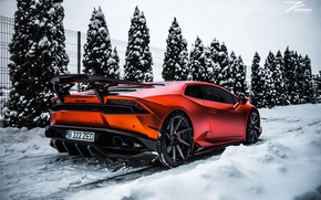 Wallpaper tuning, Lamborghini, Huracan, Z Performance