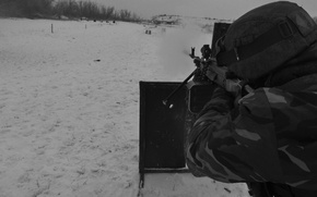 Picture PKM, DNR, Battalion Sparta, The Kalashnikov Machine Gun