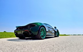 Wallpaper Green, Supercar, 2014, Mclaren