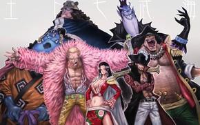 Picture game, One Piece, anime, asian, manga, japanese, oriental, asiatic, powerful, strong, sugoi, Juichinin no Choushinsei, …