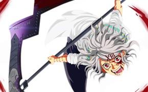 Picture blood, weapon, anime, blade, asian, manga, Tokyo Ghoul, Suzuya Juuzou, japonese, by hatashi24
