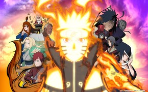 Picture anime, art, guy, Naruto, Naruto, characters, Naruto Uzumaki