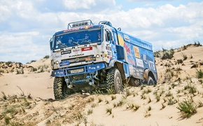 Picture Sport, Speed, Truck, Race, Master, Day, Russia, Kamaz, KAMAZ, Best, Master, Redbull, The great steppe-the …