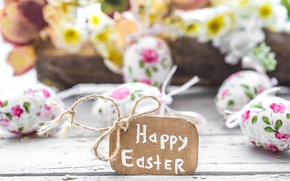 Wallpaper decoration, Easter, pastel, Easter, happy, the painted eggs, spring, eggs, flowers, flowers