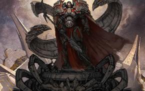 Wallpaper Odin, warrior, sword