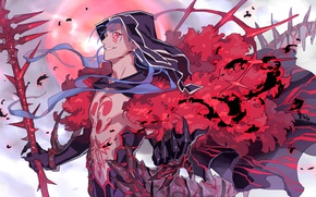 Picture anime, art, MAG, guy, Fate Stay Night, Lancer, fate/grand order, castor