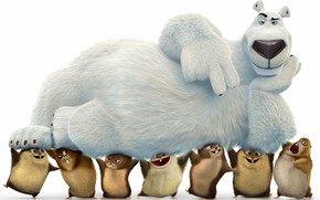 Picture bear, anima, kuma, animated movie animated film, Norm of the North, Norm