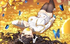 Picture kawaii, anime, zettai ryouiki, uniform, bishojo, seifuku, japonese, Azur Lane