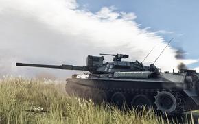 Picture Japan, Tank, Top, WarThunder, Type-74