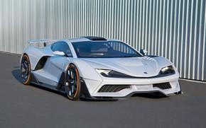 Picture white, supercar, Aria, 2019, FXE