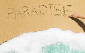 Picture sand, sea, wave, beach, summer, summer, beach, sea, seascape, sand, wave, paradise