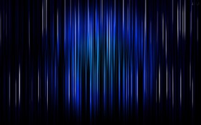 Picture line, background, blue