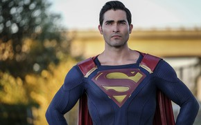 Picture costume, the series, superman, supergirl, serial, DC Comics, TV Series, Tyler Hoechlin, Supergirl, Tyler Hecklin
