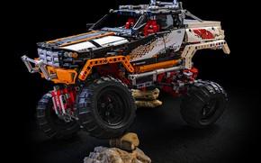 Picture Machine, Toy, Jeep, Designer, Lego Technic