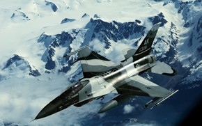 Picture military, air, force, F16