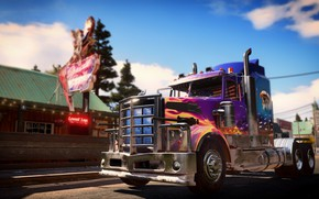 Picture the game, truck, Far cry 6