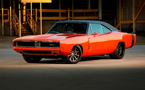 Wallpaper Charger, '69, Wheels, Forgeline, Dropkick, Dodge