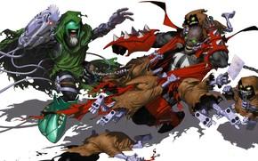 Picture cloak, comics, Spawn, spawn