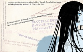 Picture look, girl, hair, anime, art, xxxHolic
