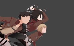 Picture girl, sword, game, soldier, anime, man, ken, blade, manga, protector, Shingeki no Kyojin, Attack On …