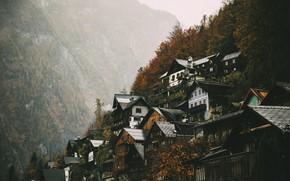 Wallpaper nature, Hallstatt, Upper Austria