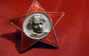 Wallpaper USSR, BACKGROUND, STAR, RED, PORTRAIT, ICON, LENIN, OKTYABRENOK, SCHOOL, NOSTALGIA