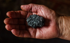 Picture Hands, Mineral, Coke, Fingers, Purified Coal