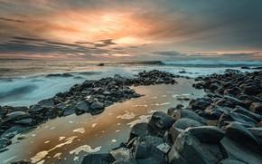Picture coast, Northern Ireland, Giant's Causeway
