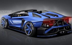 Picture Auto, Tuning, Car, Car, Goodyear, Auto, Lamborghini, Tuning, Lamboghini, DizePro