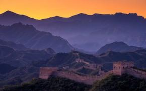 Wallpaper mountains, The Great Wall Of China, China